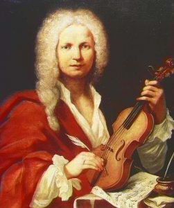 Painting of Vivaldi