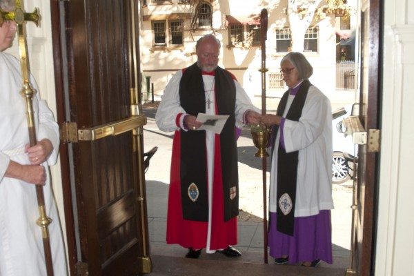 Blessing of the doors